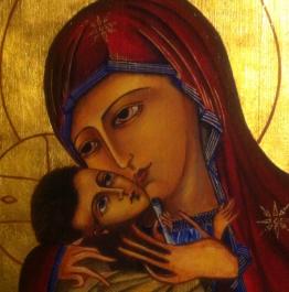 iconos pintados a mano