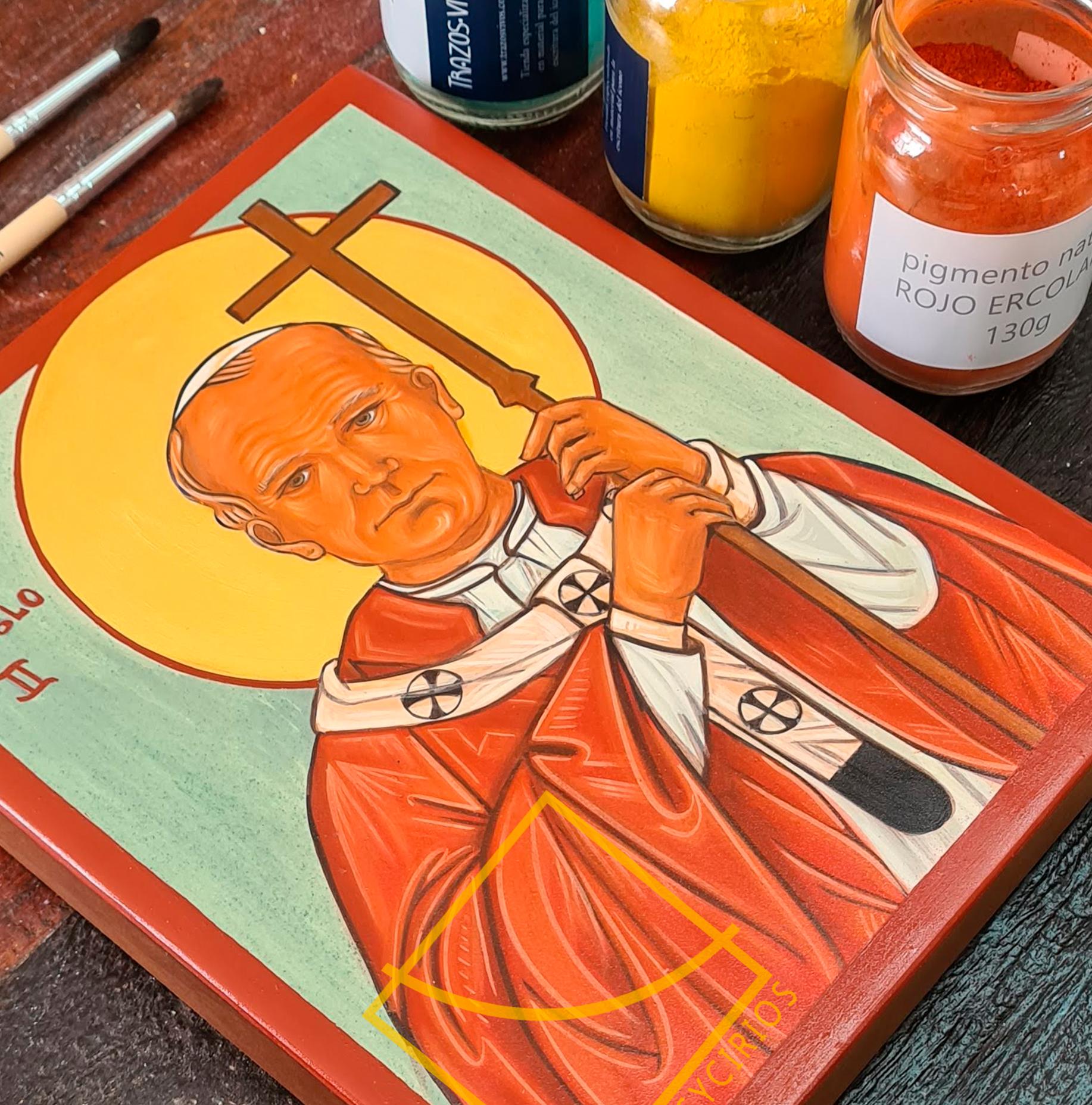 Icono san Juan Pablo II